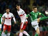 ЧМ-2018, плей-офф: Сев.Ирландия — Швейцария — 0:1, Хорватия — Греция — 4:1 (ВИДЕО)