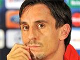 Гэри Невилл: «Англия недостаточно сильна, чтобы обыграть Испанию»