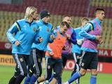 ФОТОрепортаж: тренировка сборной Украины в Македонии