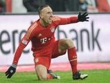 Коллеги признали Рибери лучшим игроком первого круга бундеслиги