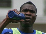 Браун Идейе провёл первую тренировку в «Динамо» (Обновлено. ФОТО)