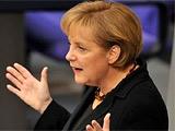 Меркель посетила раздевалку сборной Германии