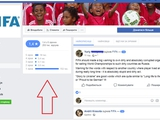 Украинцы обвалили рейтинг официальной страницы ФИФА в Facebook