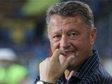 Мирон Маркевич: «Допустят ли нас к Лиге чемпионов, покажет время»