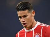 Хамес сможет сыграть против «Реала» в Лиге чемпионов