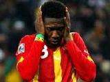 Асамоа Гьян приостановил выступление за сборную Ганы