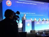 В Женеве начал работу 13-й Внеочередной Конгресс УЕФА