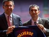 Бартомеу: «Вальверде влюбил в себя всех в «Барселоне»