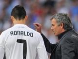 Роналду ссорится с Моуринью?