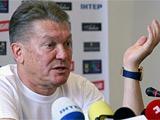 Олег Блохин провел пресс-конференцию (+Отчет, +ФОТО тренировки). Потери сборной: Гусев, Ярмоленко, Ракицкий