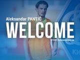 Официально: Александар Пантич — игрок «Динамо»