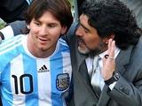 Марадона посоветовал Месси не возвращаться в сборную