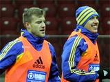 ФОТОрепортаж: тренировка сборной Украины в Варшаве (26 фото)