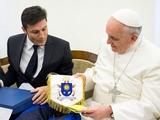 Хавьер Дзанетти встретился с папой