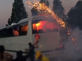 Директор фан-клуба «Спартака»: «В автобус бросали «коктейль Молотова»