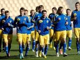 Игроки сборной Украины опробовали газон «Естадио Олимпико»