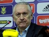 Украина — Кипр — 1:0. Послематчевая пресс-конференция
