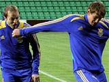 ФОТОрепортаж: тренировка сборной Украины в Кишиневе (30 фото)