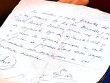 Первый контракт Месси был написан на салфетке (ФОТО)