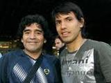 Диего Марадона: «Я дал Агуэро необходимые советы»
