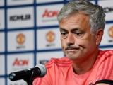 Жозе Моуринью обратился к футболистам «Манчестер Юнайтед»