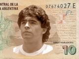 Аргентинские болельщики хотят видеть портрет Марадоны на банкнотах