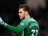 Вратарь «Манчестер Сити» Эдерсон хочет забить гол до конца сезона