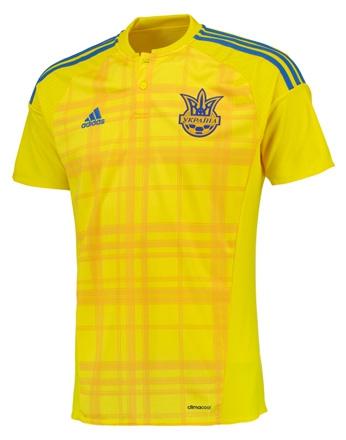 Сборная Украины, Игровая футболка Adidas Home Kit 2016/18
