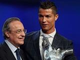 Перес верит в возвращение Роналду в «Реал»