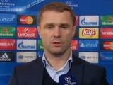 Сергей РЕБРОВ: «Я рад, что мы не просто победили, а победили в два мяча»