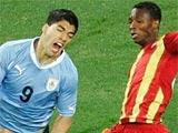 ЧМ-2010. 1/4 финала. Уругвай — Гана — 1:1. Пен. — 4:2 (ВИДЕО)