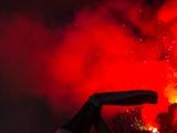 Фанаты «Зенита» сожгли чеченский флаг на стадионе «Петровский»