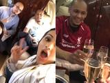 Новичок «Ливерпуля» отметил свой трансфер в частном самолете с шампанским (ФОТО)