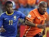 ЧМ-2010. 1/4 финала. Нидерланды — Бразилия — 2:1 (ВИДЕО)