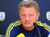 Мирон Маркевич: «В матче с ПАОКом устроит результативная ничья»
