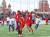 Ващук сыграл на Красной площади за «Сборную мира»