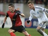 «Динамо» вдевятером уступило «Генгаму» в первом матче 1/16 финала Лиги Европы (ВИДЕО)