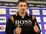 Виталий Кличко: «Буду держать кулаки за Украину»