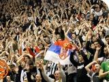 Матч «Партизана» в чемпионате Сербии прерывался из-за действий фанатов