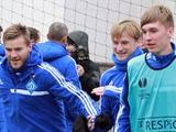 ФОТОрепортаж: открытая тренировка «Динамо» накануне матча с «Туном» (9 фото)