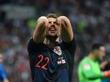 Наши хорваты в матче со сборной Англии