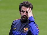 «Барселона» лишилась Фабрегаса во «Внуково»