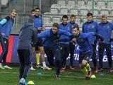 ФОТОрепортаж: тренировка сборной Украины в Кракове (23 фото)