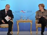 Путин предложил России и Германии обменяться сборными