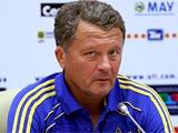 Мирон Маркевич: «Желаю тренерскому штабу сборной, чтобы у них всё получилось»