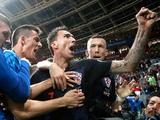 Англичане хотели забить мяч хорватам, пока те радовались второму голу (ВИДЕО)