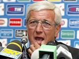 Липпи рад, что Италию не считают фаворитом чемпионата мира