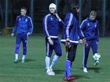 ФОТОрепортаж: открытая тренировка «Динамо» накануне матча с «МанСити» (20 фото)