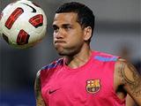 «Барселона» готова отпустить Дани Алвеса за 15 млн евро