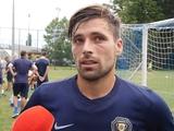 Экс-динамовец Артем Щедрый: «Днепр-1» нравится тем, что команда играет в свой футбол, доминирует и действует первым номером»